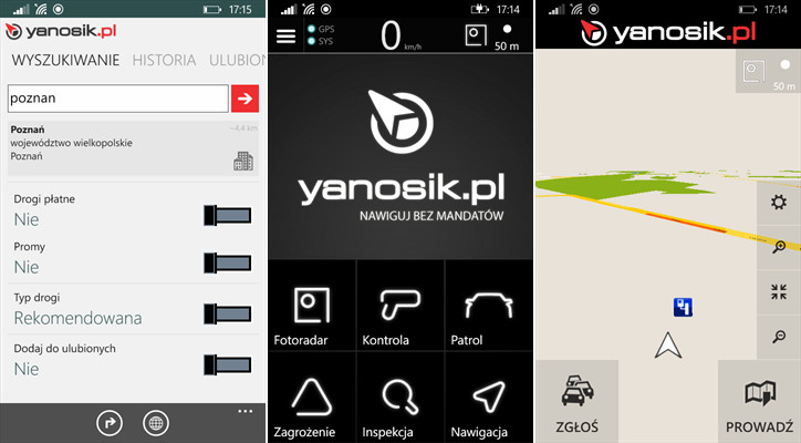 Yanosik Beta