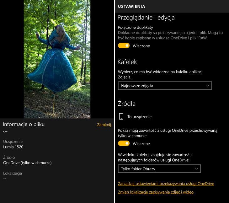Zdjęcia Microsoft - OneDrive