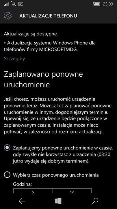 Aktualizacja oprogramowania Lumia 950 i Lumia 950 XL