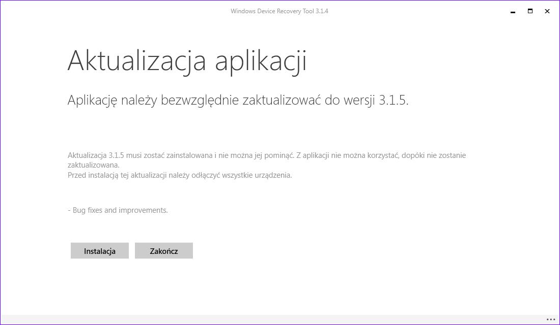 Windows Device Recovery Tool 3.1.5