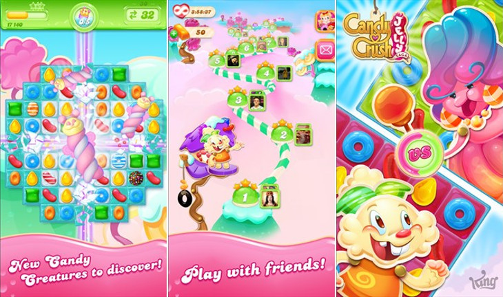 Candy Crush Jelly Saga dla Windows 10 i Windows 10 Mobile