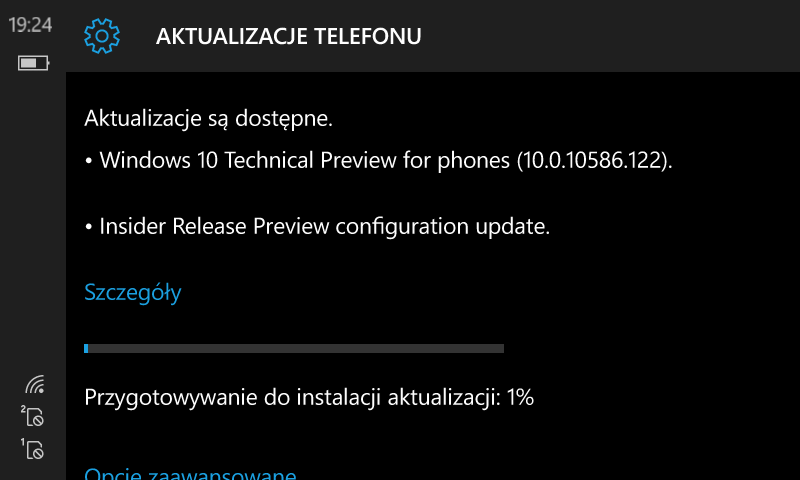 Windows 10 Mobile Build 10586.122