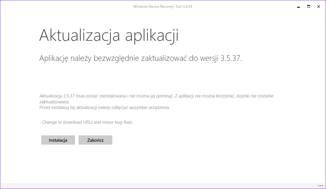 Windows Device Recovery Tool 3.5.37