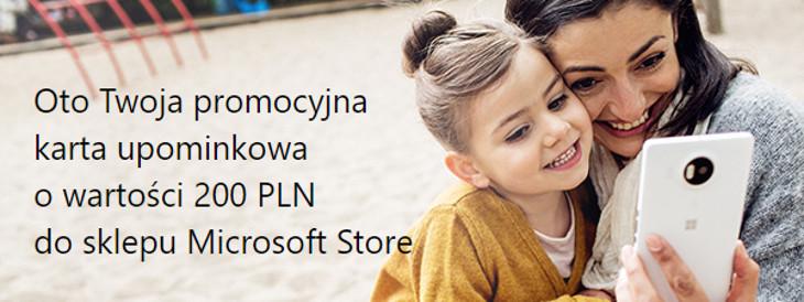 Karta upominkowa Microsoft