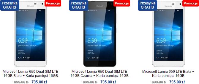 Lumia 650 w sklepie Lumia-Sklep