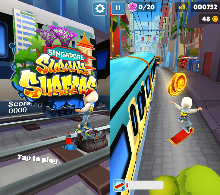 Subway Surfers dla Windows 10 Mobile