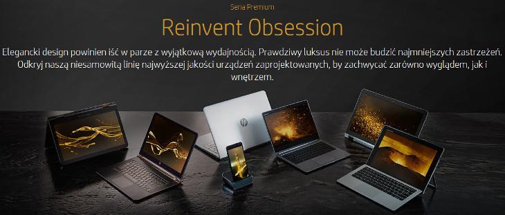 Seria Premium HP Reinvent Obssesion
