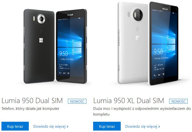 Lumia 950 XL w sklepie Microsoft