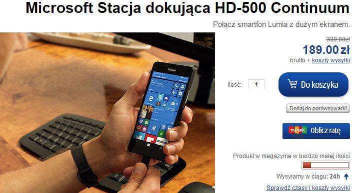 Lumia-Sklep.pl - Stacja dokująca HD-500