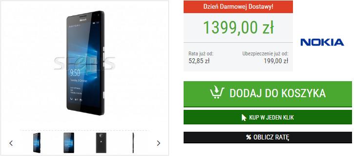 Lumia 950 XL w sklepie Sferis