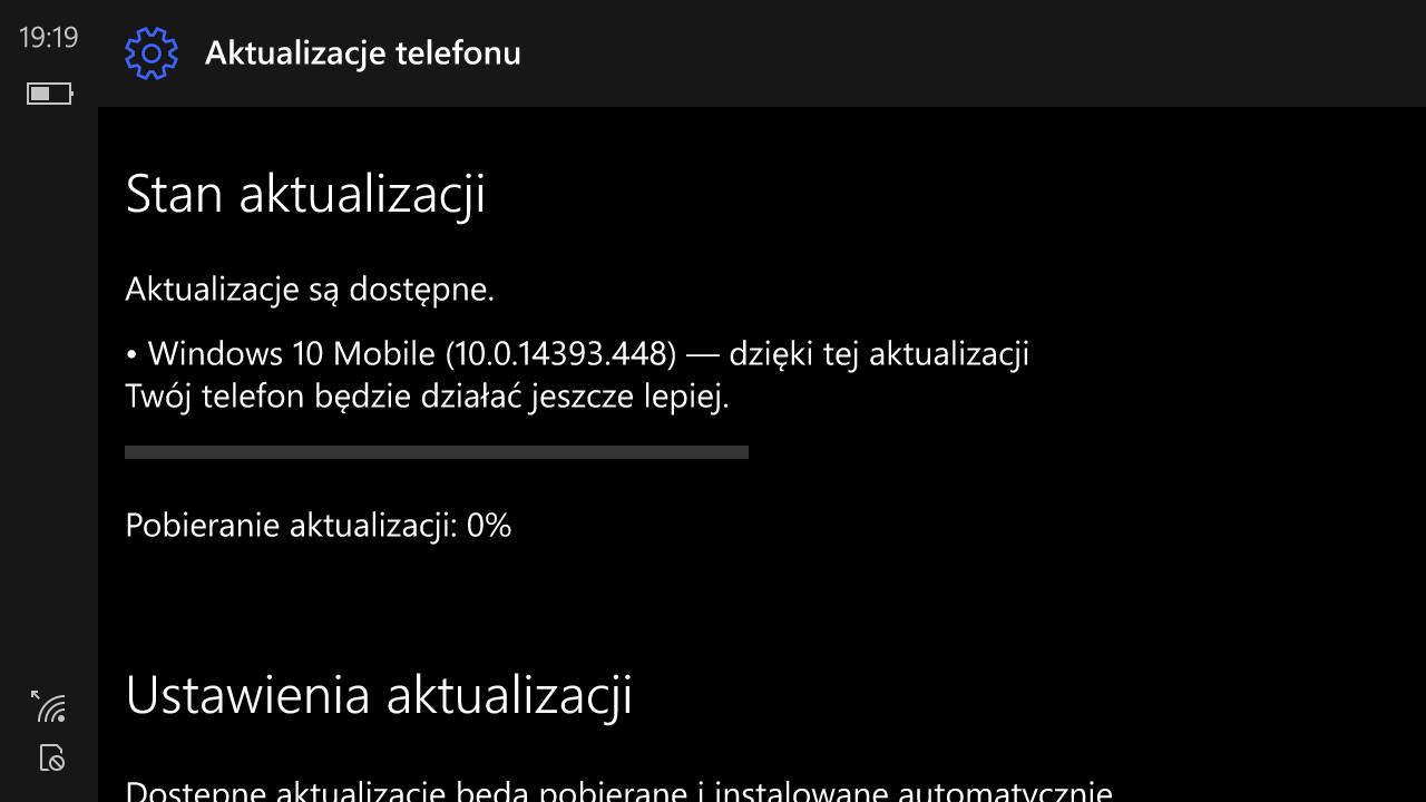 Windows 10 Mobile Build 14393.448