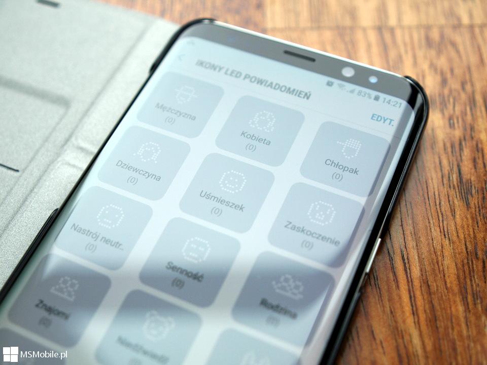 latest size 40 best value Sprawdzamy etui LED View Cover dla Samsung Galaxy S8+ ...
