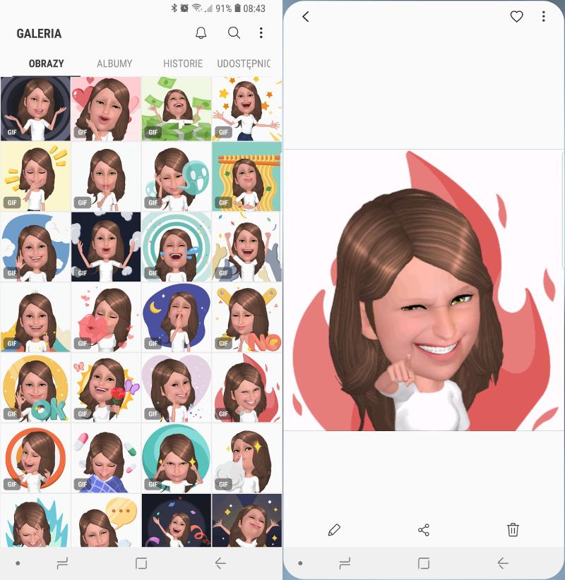 Jak zrobić własne AR Emoji na telefonie Galaxy S8, S8+ oraz
