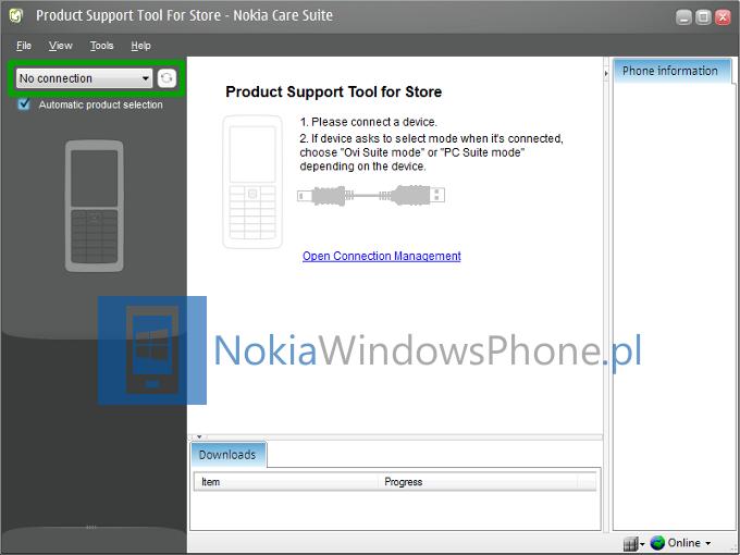 Nokia Care Suite - No connection